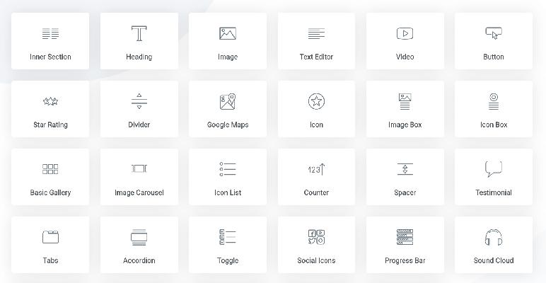 Plugin Page Builder Elementor